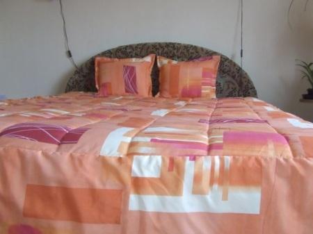 Fodros pamutvászon ágytakaró